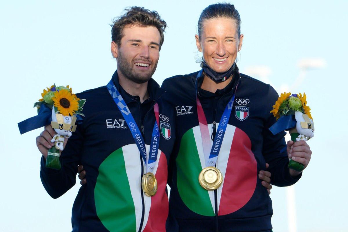 Ruggero Tita e Caterina Banti conquistano l'oro nel Nacra 17 misto alle Olimpiadi