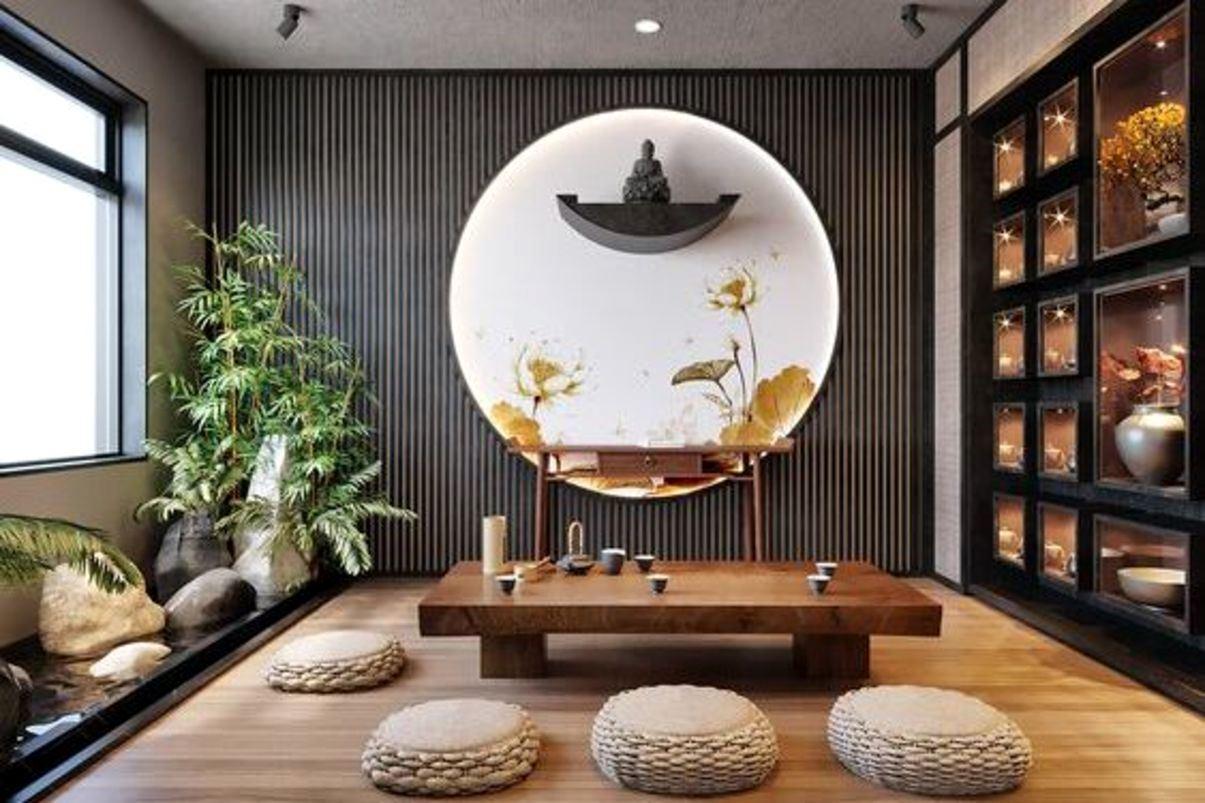 Arredamento casa in stile giapponese