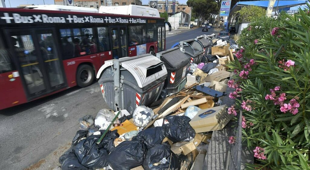 amministrative di roma, rifiuti a roma