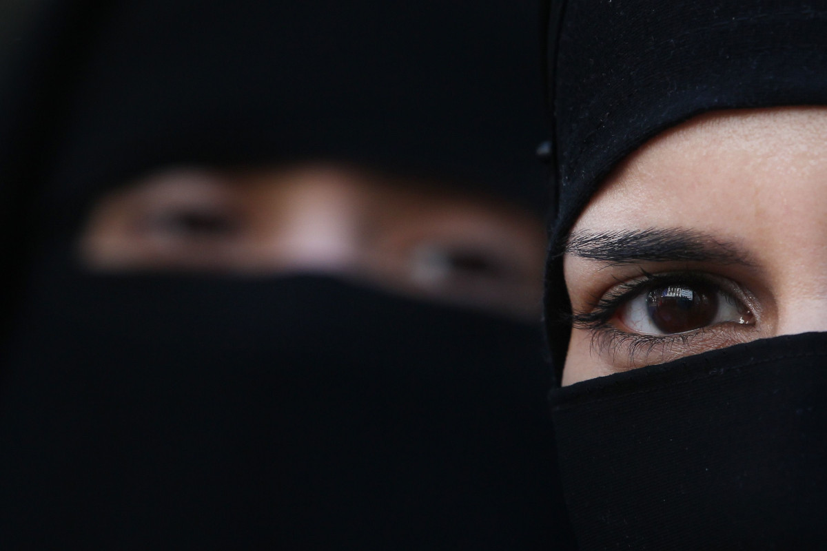 Burqa, donne orientali