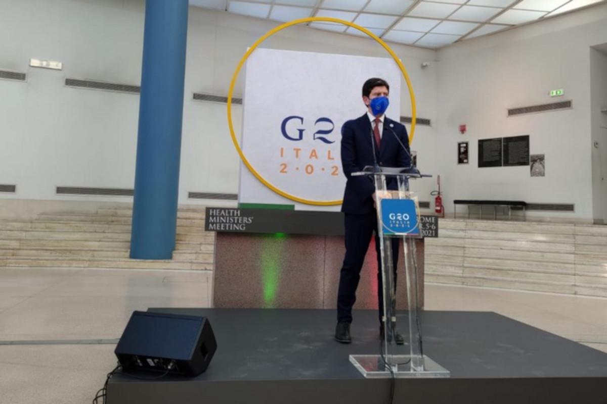 Roberto Speranza al G20 Salute