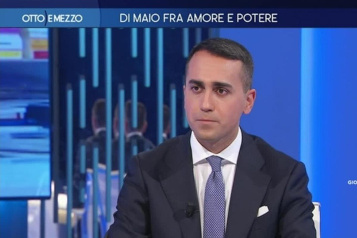 Luigi Di Maio Otto e Mezzo