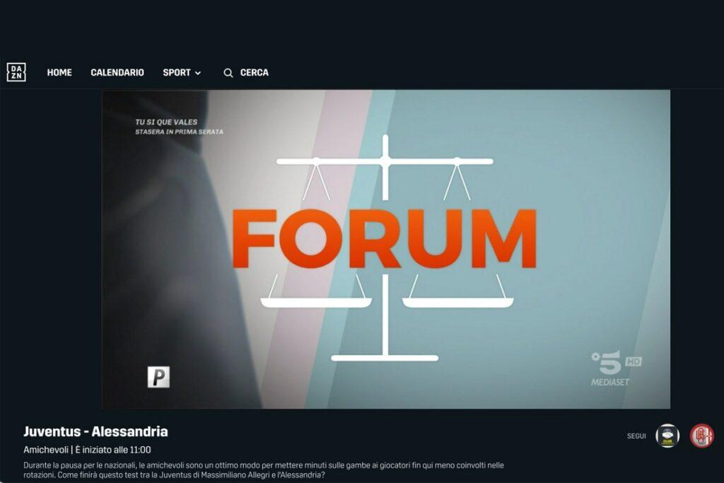 forum al posto di juventus-alessandria