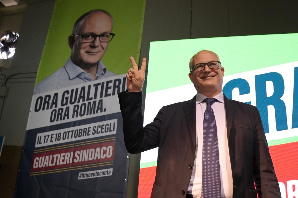 Roberto Gualtieri, sindaco di Roma (Foto Ag. Nova)