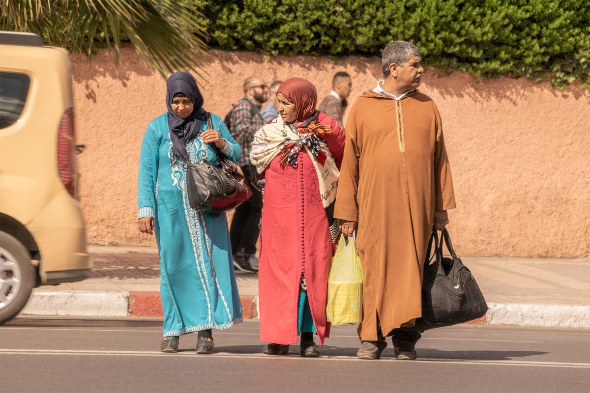 Marocco donne e uomo
